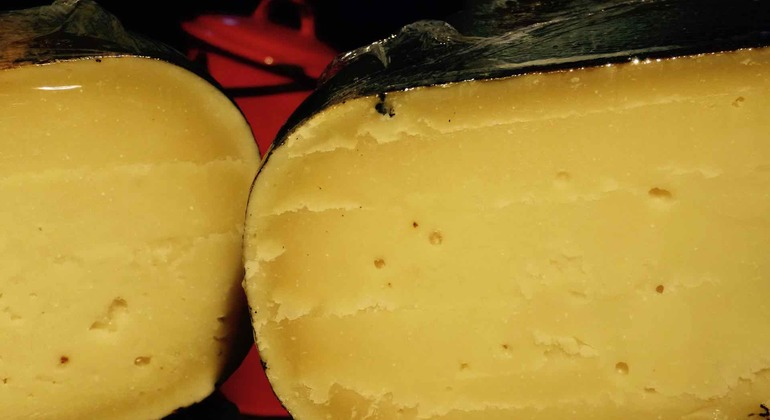 Cheese in Amsterdam on Dutch food free tour of Amsterdam​
