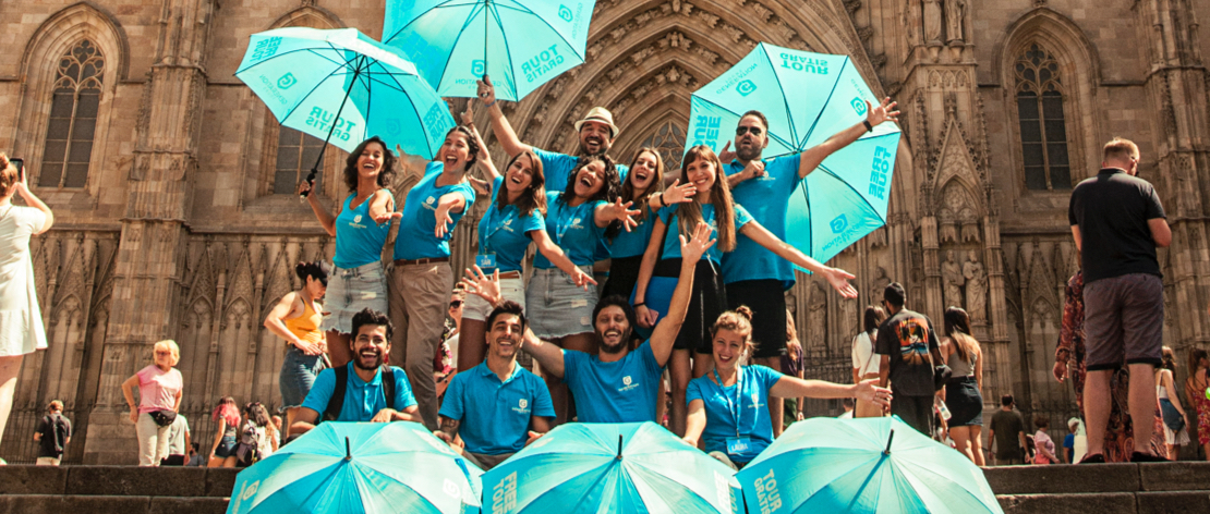 Local & professional free tours Barcelona guides