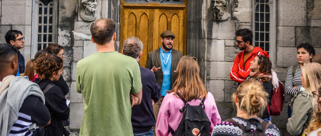 Top quality local Dublin walking tour guides for tips only!
