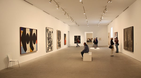 Famous artists in Museo Reina Sofia in Madrid