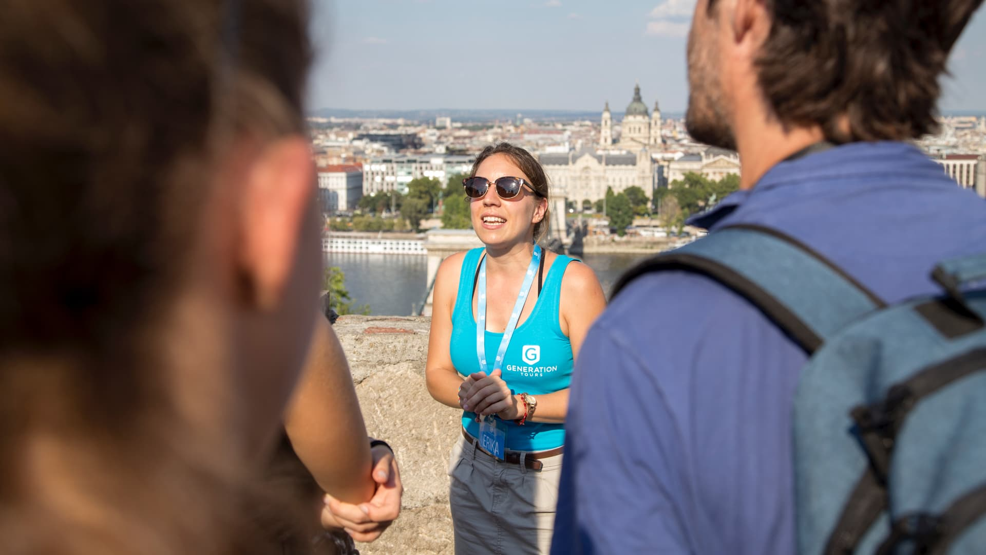 Free Budapest tour group