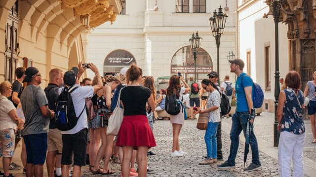 Free walking tour of Prague in the Old Town